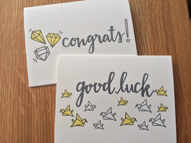 writejoybell – Good Luck Cards to Print